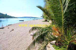 Chorvatsko ubytování na pláži